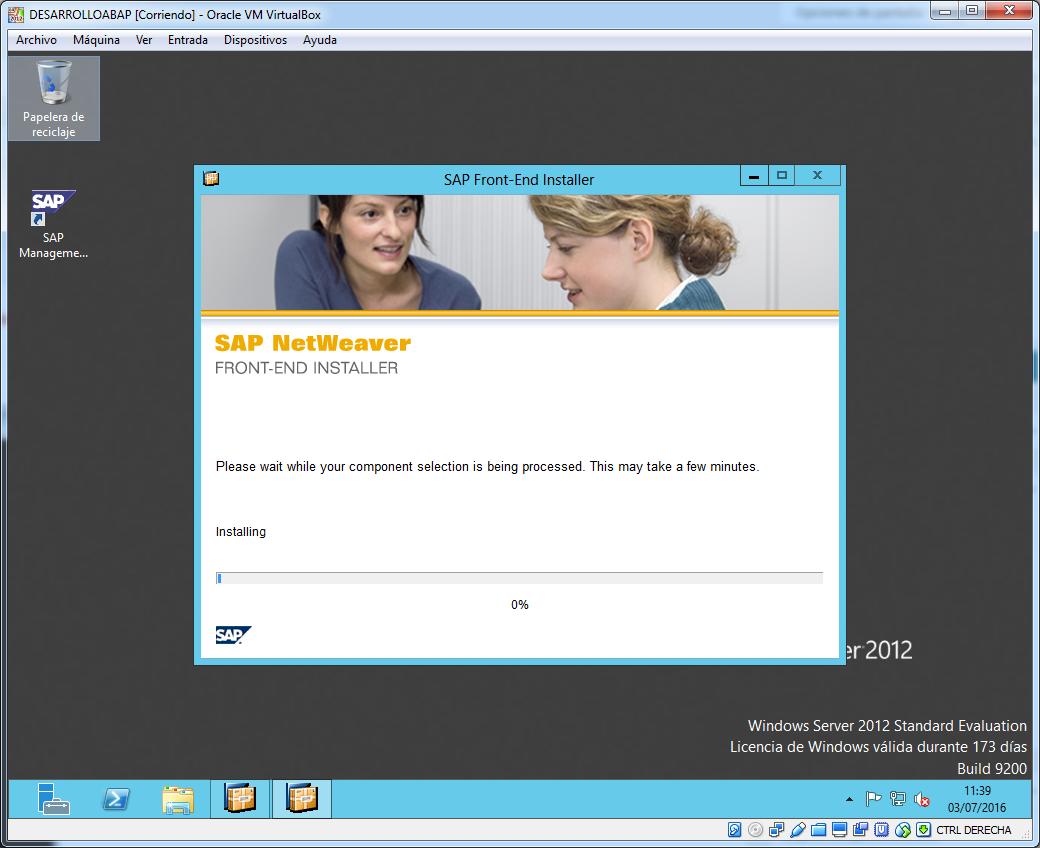 Proceso instalacion SAP Gui