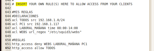 ejemplo control acceso a webs por periodos en squid3