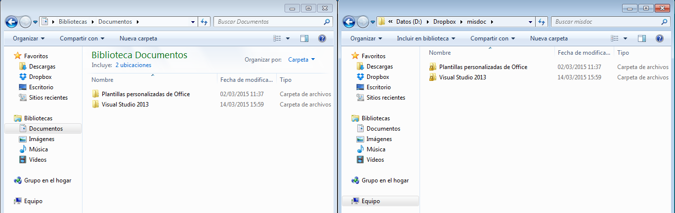 mis documentos dropbox