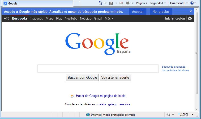 Acceso a google