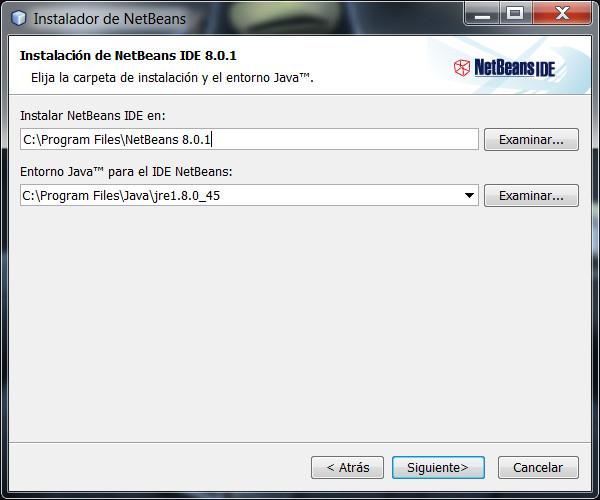 instalacion-netbeans-64-bit