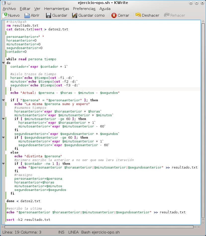 Script Linux de las Oposiciones 2015 al cuerpo FP SAI